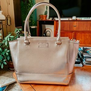 Kate Spade New York Gold Tote